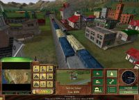 Screenshot from Railroad Tycoon II.
