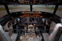 A full size 737NG flight simulator.