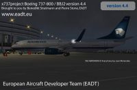Screenshot of Boeing 737-800 on the ground.