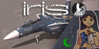 Screenshot of Ace Combat IM@S F-15E with tail decal.