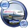 Icon showing Air 2000 Airbus A321-211.