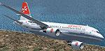 Screenshot of Air Malta Airbus A319-111 in flight.
