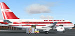 Screenshot of Air Mauritius Airbus A319-111 on the ground.