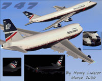 Images of BA Landor Boeing 747-200.