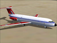 Screenshot of BAC 1-11 475 on the ground.