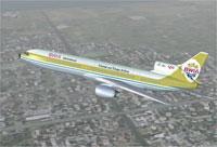 Screenshot of BWIA Lockheed L-1011 TriStar in flight.