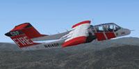 Screenshot of Bronco X CDF 140 in flight.