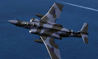 Screenshot of Buccaneer in flight.