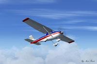 Screenshot of Cessna 152 Aerobat in flight.