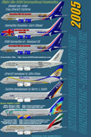 Image showing all eight liveries contained in this pack.