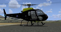 Screenshot of DHFS AS350 Squirrel HT1 on the ground.