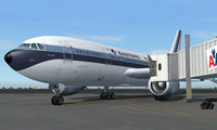 Screenshot of Eastern Whisperliner Airbus A300 at the gate.
