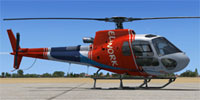 Screenshot of Eliwork Aerospatiale AS 350B3 on the ground.