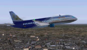 Screenshot of Fairchild Dornier 728JET in flight.