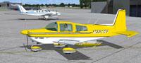 Screenshot of Grumman Tiger N22157 on the ground.