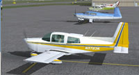 Screenshot of Grumman Tiger N5783K on the ground.