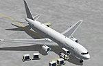 Screenshot of Israir Boeing 767-300 on the ground.