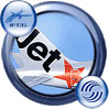Icon showing tail decal of Jetstar Airbus A320-232.