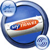 Icon showing the MyTravel logo.