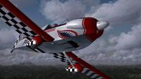Screenshot of Pazmany PL-4 in flight.