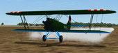 Screenshot of Policarpov PO-2 HA-POH taking off.