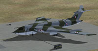 Screenshot of Handley Page Victor 100 Squadron on the ground.