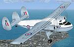 Screenshot of RAF Twin Pioneer XM959 in flight.
