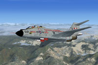 Screenshot of RCAF McDonnell CF-101B in flight.