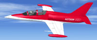 Screenshot of Private Aero Vodochody L39 N3795W in flight.