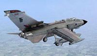 Screenshot of Royal Air Force Tornado GR4 in flight.