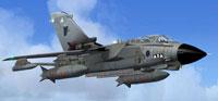 Screenshot of Royal Air Force Tornado GR4a in flight.