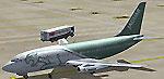 Screenshot of Ryanair Boeing 737-200 on the ground.