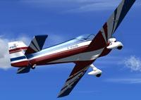 Screenshot of Dyn'aero CR100 in flight.