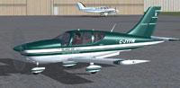 Screenshot of Socata TB-10 Tobago C-JYFW on the ground.