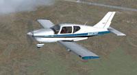 Screenshot of Socata TB-10 Tobago in flight.