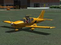 Screenshot of Socata TB10 Tobago on the ground.
