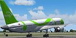 Screenshot of Song Boeing 757-200 on runway.