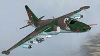 Screenshot of Sukhoi Su-25/39 Frogfoot in flight.