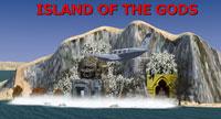 Screenshot of the Island of the Gods.
