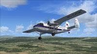 Screenshot of Twin Pioneer PI-C434 in flight.