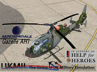 UKMIL Gazelle AH1 package cover.
