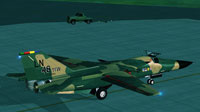 Screenshot of US Air Force F-111 Aardvark on the ground.