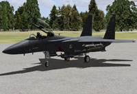 Screenshot of US Air Force F-15E on the ground.