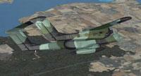 Screenshot of USMC OV-10 Bronco in flight.