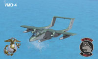 Screenshot of USMC OV-10A VMO-4 in flight.