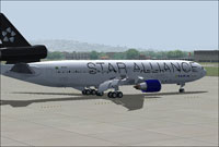 Screenshot of Varig McDonnell Douglas MD-11 on the ground.