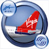 Icon showing tail decal of Virgin Atlantic Airbus A321-211.