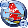 Icon showing tail decal of Virgin Sun Airbus A321-211.