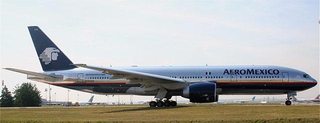 Aeromexico Boeing 777.