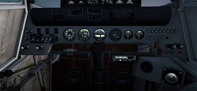 Agtruck cockpit